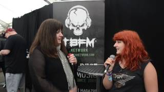 Buck and Evans TBFM Interview Download Festival 2016