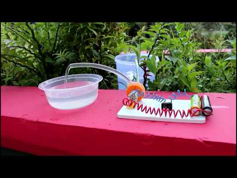 How To Make A Water Pump With Easy