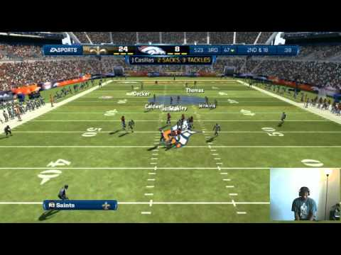 Madden 13 - Ballin Wit Dem Saints! | Madden 13 Online Ranked Match Gameplay