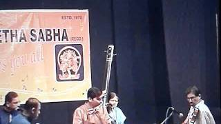 Flute concert at Poona sangeetha sabha: Varna in Raga Vasantha