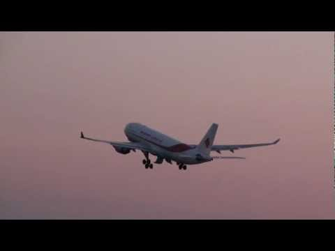 Air Algerie A330-200 Takeoff YUL Montreal