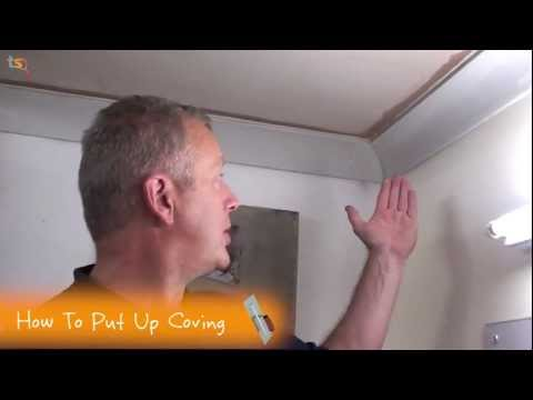 Tommy's Trade Secrets - How To Fit Coving (Internal Mitre)