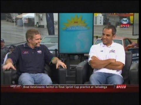 Bobby Labonte and Juan Pablo Montoya Talladega Trackside 5/4/2013