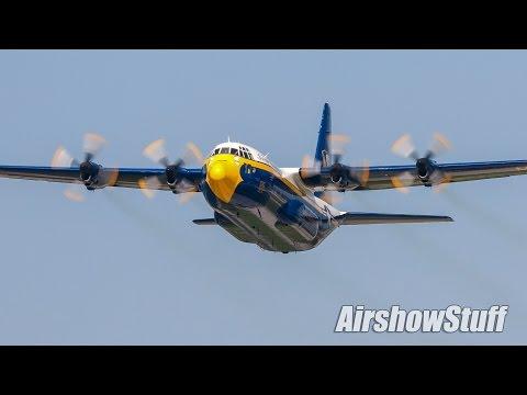 "Blue Angels C-130 ""Fat Albert"" - Lynchburg Regional Airshow 2016"