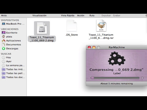 Comprimir archivos .rar en OS X Mountain Lion 10.8
