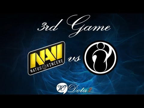 Na'Vi vs IG - Финал 3 Игра (The International 2) Русские Комментарии