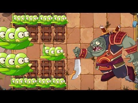 Plants Vs Zombies 2 Frijol de Caballo Vs Jefe Final Kung Fu World