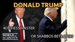 #17 Donald Trump: 4D Chess Master or Shabbos Betrayer? | with Faust