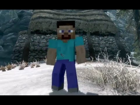 Minecraft in Skyrim!! - Top 5 Skyrim Mods of the Week