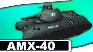AMX-40 - ИСТОРИЯ ТАНКА