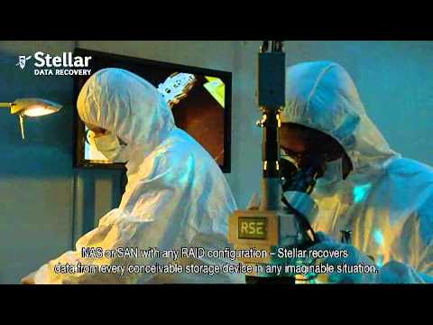 Stella Data Recovery Services in Class 100 Clean Room