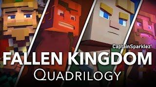 Fallen Kingdom Quadrilogy: Fallen Kingdom, Take Back The Night, Find The Pieces, & Dragonhearted