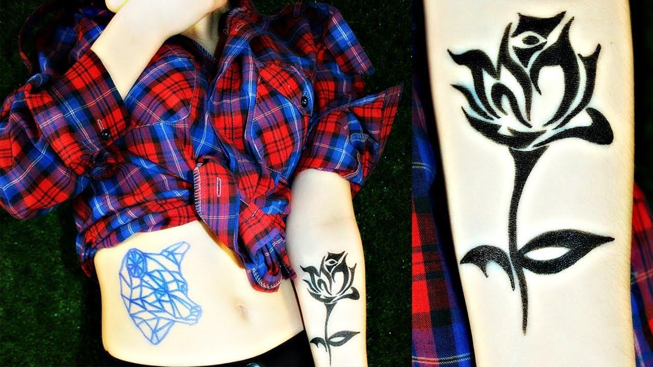 Как сделать себе татуировку на месяц в домашних условиях 363