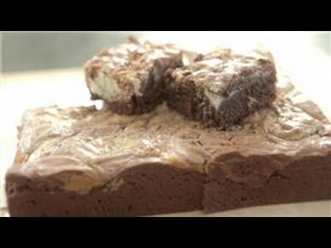Baking Desserts : How to Make Cream Cheese Brownies