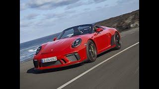Essai Porsche 911 Speedster (2019)