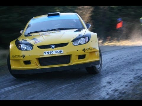 Scottish/British Rally Highlights 2012 - crashes and mistakes [HD]