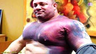 بالفيديو .. لاعبى كمال أجسام أنفجرت عضلاتهم .. أحدهم اخترقت العظم وخرجت ورآها العيان