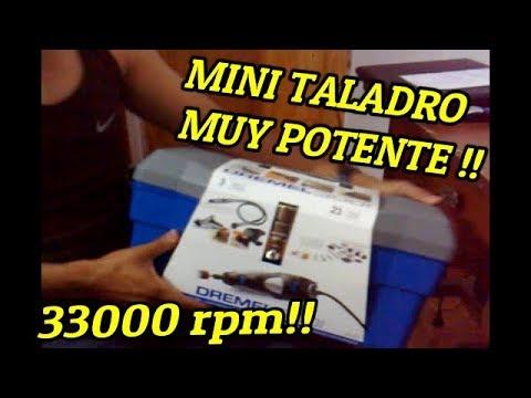 Mi nueva multiherramienta rotativa dremel 300 youtube - Multiherramienta tipo dremel ...