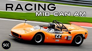 MCLAREN M1B CAN-AM - Racing at Spa-Francorchamps - Sound   Drive - CanAm   SCC TV
