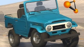 BeamNG.Drive Mod : Toyota Land Cruiser J40 (Crash test)