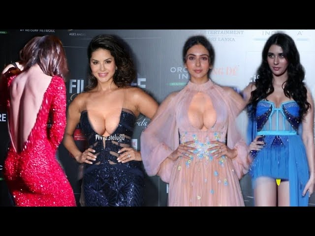 Bollywood Many H0TT Actresses on Red Carpet at Filmfare Glamour Awards 2019 | Rakul, Ankita, Sunny thumbnail
