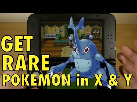 Pokemon X and Y. Catch RARE Pokemon with Friend Codes & Safari Zone