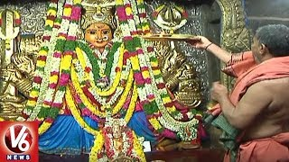 Brahmotsavam Continues in Warangal Bhadrakali Temple