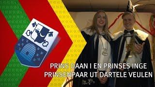 Prins Daan I en prinses Inge nieuwe prinsenpaar in Veulen - 9 januari 2017 - Peel en Maas TV Venray