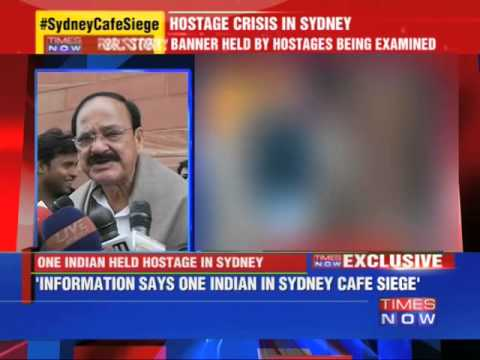 Indian Hostage In Sydney