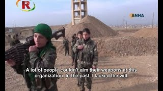Interview with Arab YPJ Fighter (English Subs)