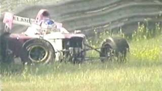 Viktor Jensen crashes Formula Palmer Audi at Monza 2005