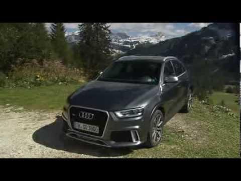 Audi RS Q3 Footage