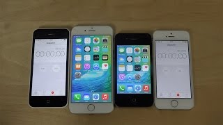 iPhone 6 iOS 9 Beta vs. iPhone 4S iOS 9 Beta Big Game App Download Speed Test! Which Is Faster?