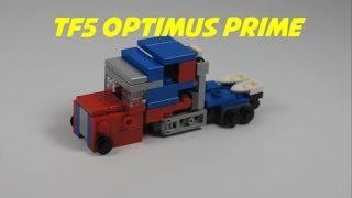 How To Build A Mini Lego TLK Optimus Prime
