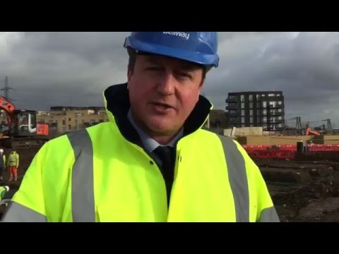 David Cameron: Helping hardworking people buy affordable homes