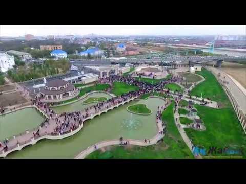 Открытие ретро-парка в Атырау