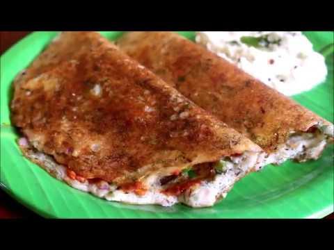 Sunday Brunch Recipe Series: Dill Leaves Masala Dosa + Ginger Coconut Chutney Recipe