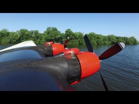 The world's biggest water bomber is for sale