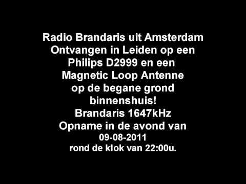 Radio Brandaris Amsterdam op 1647kHz in 2011