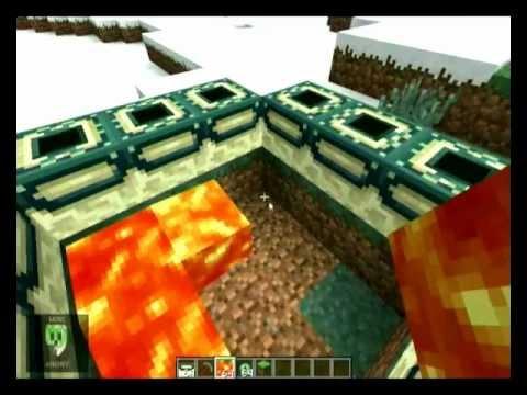 Minecraft: Crear portal al Mundo Enderman
