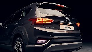 2019 Hyundai Santa Fe - Design, Safety, Features - Driving