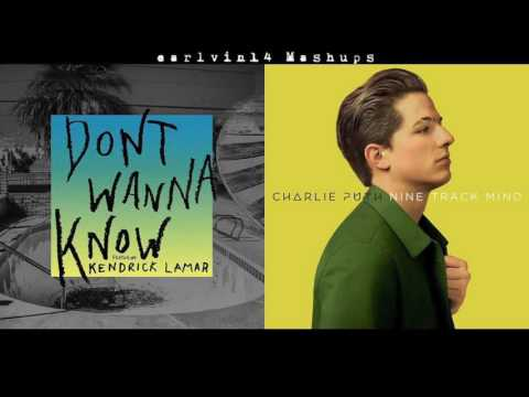 Don't Wanna Know vs. We Don't Talk Anymore (Mashup) - Maroon 5 & Charlie Puth - earlvin14 (OFFICIAL)