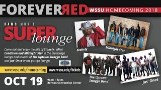 RAMS Music Super Lounge 2018 - WSSU Homecoming