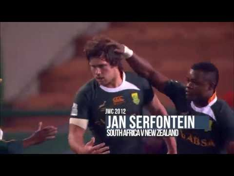 Serfontein stars for SA at World Rugby U20s in 2012
