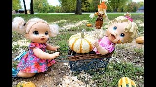 Baby Alive Babies Visit PUMPKIN PATCH Run by American Girl