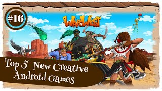 Top 5  New Creative Android Games (Online|Offline) | Part 16
