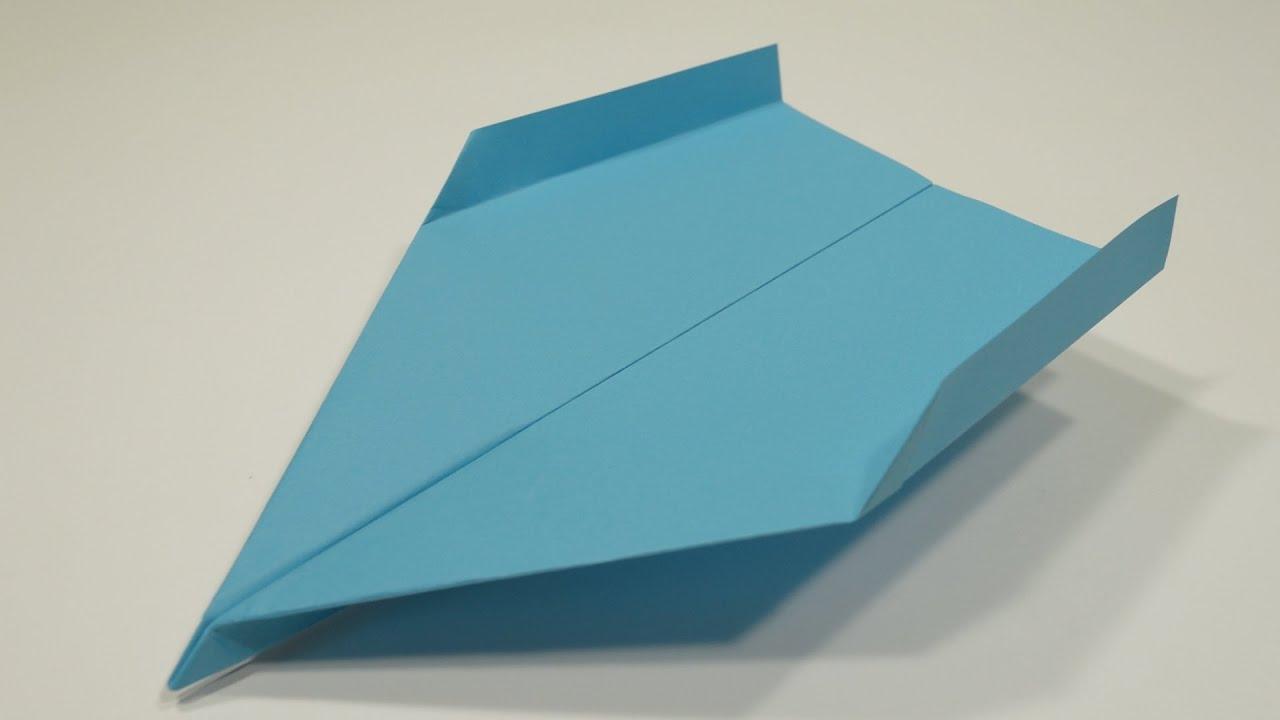 Как сделать планер из оригами