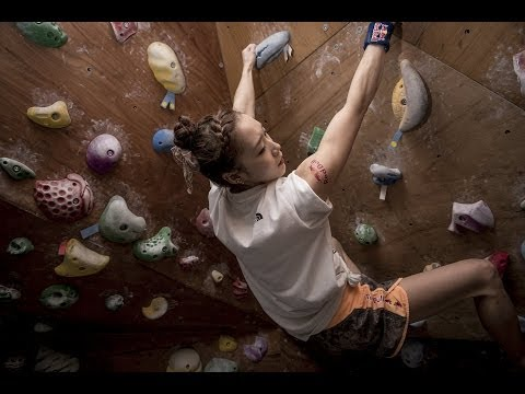 Jain Kim takes championship climbing to new heights