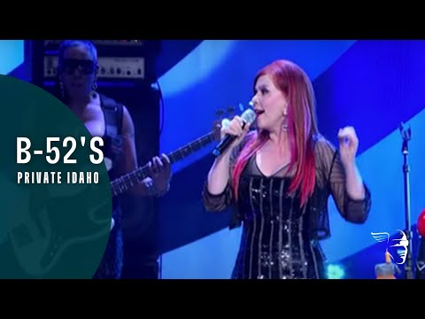 The B-52's - Private Idaho (Live @ Athens)