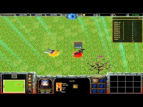 Warcraft III: TFT - Naruto Battle Royal - 40 - Turnajek S01E03 - White :D